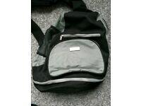 Baby change sling over shoulder bag