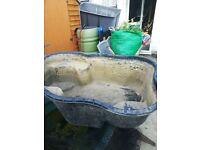 plastic mould fish pond