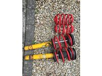 Bmw e46 Saloon lowering springs