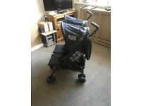 Zeta citi twin double stroller pushchair