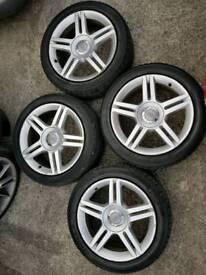 Vw/audi alloy wheels 5x112