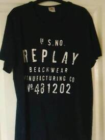 Replay t.shirst new with labels GENUINE!! From house of Fraser size xl
