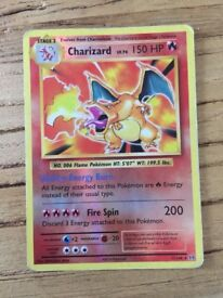 Charizard rare reverse hollow