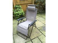 Quest Ibiza Range Relaxer Folding Chair