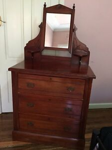 Duchess dressing table with mirror Kingsgrove Canterbury Area Preview