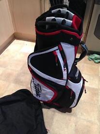 As new Titleist golf Cart bag