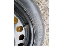 Free to collect! Space saver wheel pcd 4x100, tyre: 135/70/15, £Free