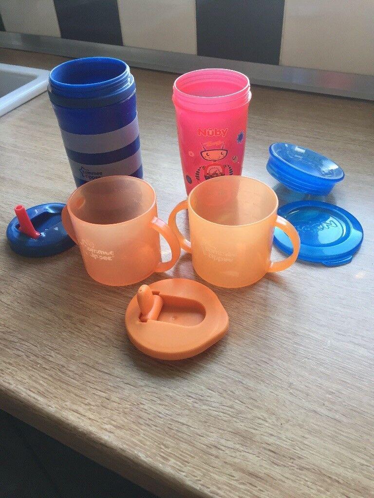 X4 toddler beakers