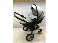SILVER CROSS PRAM SURF ETON GREY SPECIAL EDITION PUSHCHAIR