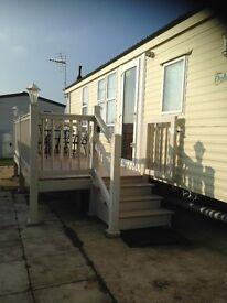 6 Berth Caravan to hire ,Golden Sands Holiday Park,Rhyl