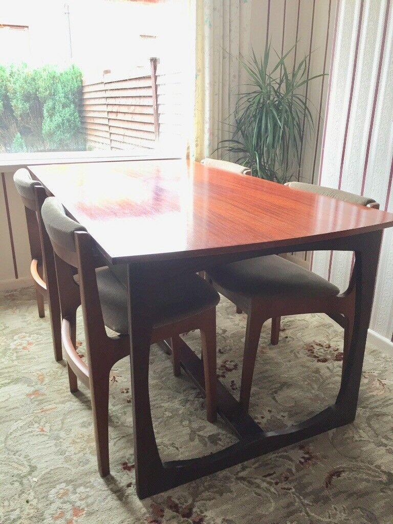 1960 S Vintage Dining Table And Chairs Home Clearance