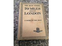 The Blue Guides '70 Miles Around London' hardback