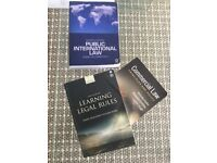 Public International Law + Commercial Law + Learning Legal Rules