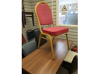 NEW Cancelled Order Steel Framed Banqueting Chairs - Nationwide Delivery Brand New No Minimum Order