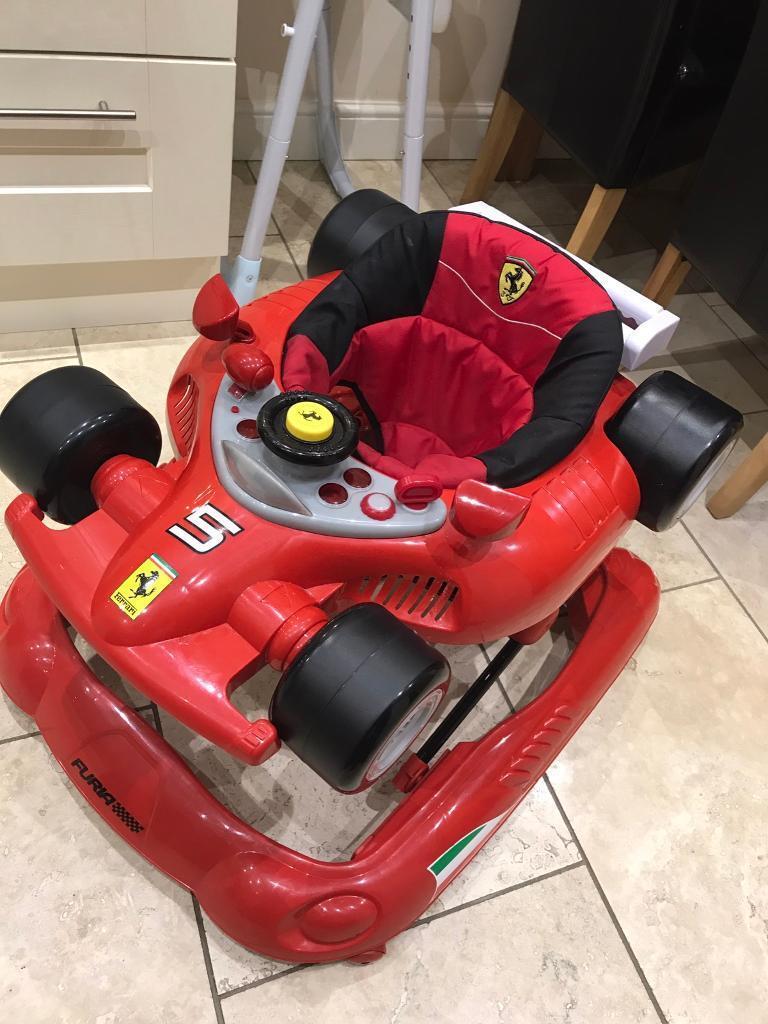 Ferrari baby walker excellent condition