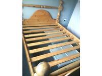 Kinsize bed frame