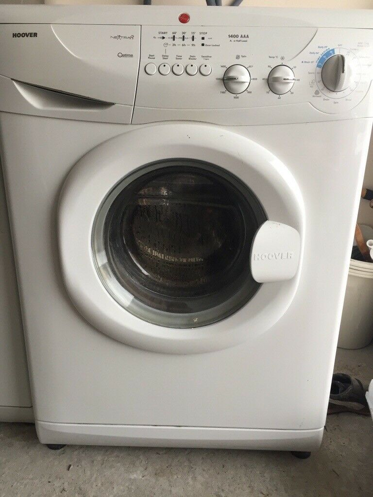 Hoover nextra optima washing machine in dunfermline for Lavatrice hoover 13 kg