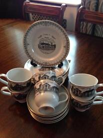 Commemorative tea set