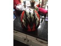 Fm motorcycle helmet