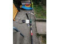Bosch Telescopic hedgecutter cordless battery powered