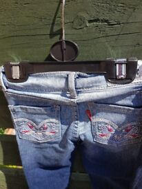 2 x levi jeans size 2