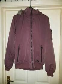 Ladies Burgundy Jacket