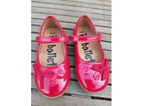 Girls red size 8 shoes