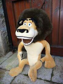 Alex - the lion from The Madagascar movie.es.