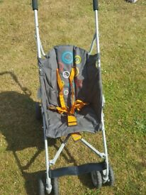 Pushchair, buggy style, no covers,