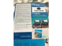 7 nights accommodation in Tenerife