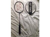 Yonex Muscle Power 3 Badminton Racquet with Cover. Carbon Graphite Shaft