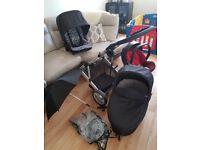 Pram, Mamas & Papas 3 in 1 travel system