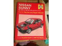 nissan sunny manual book