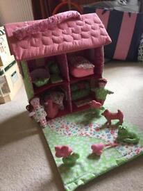 Fabric Dolls House