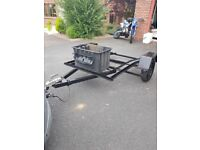 Bike trailer double. Motorcross enduro ktm exc exc-f