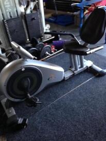 V-fit Series Recumbent Exercise bike gym