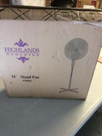Highlands stand fan