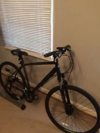 Men's carrera crossfire hybrid bike