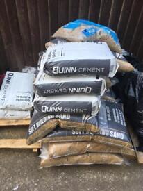 Building sand & cement