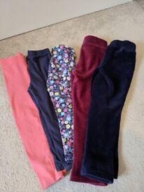 Toddler girls leggings bundle