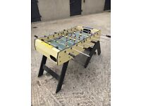 Fuseball or Table Football. Needs TLC but all men & poles there