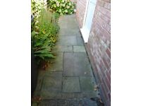 Used Indian Sandstone Paving approximately 24.3m2