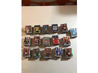 Match attax trading footballs cards bundle.
