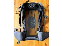 Osprey Cycle Backpack with Camelbak (water) holder and aerated back, ideal for touring or commuting