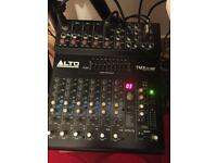 Rcf speakers & alto powered mixer