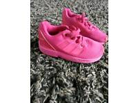 Pink addidas toddlers size 7