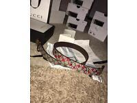 Gucci snake belt 32-26 inch waist