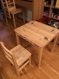 Kids desk - Pine Wood