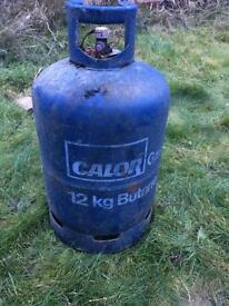 Full Calor gas bottles