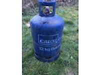 Full Calor gas bottles